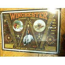 Cartel Vintage Winchester 1974