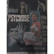 Psicosis Psycho - Coleccionistas - Lobby Card Cartel De Cine