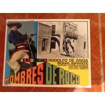 Cartel De Cine Hombres De Roca Rodolfo De Anda Varios
