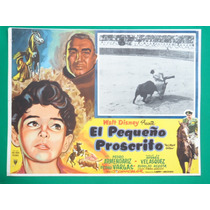 Pedro Armendariz El Pequeño Proscrito P Vargas Cartel D Cine