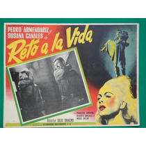 Pedro Armendariz Reto A La Vida Susana Canales Cartel D Cine