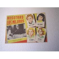 Cartel We The Women Siamo Donne Nosotras Las Mujeres Bergman