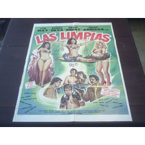 Poster Original Las Limpias Rebeca Silva Grace Renat Lyn May
