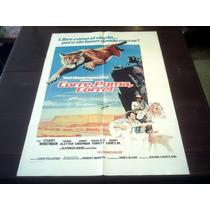 Poster Orignal Run Cougar Run Corre Puma Stuart Whitman 1972