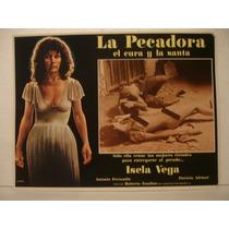 Isela Vega , La Pecadora , Cartel De Cine