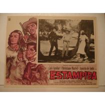 Christiane Martell, Estampida , Cartel ( Lobby Card )
