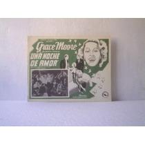 Cartel One Night Of Love Una Noche De Amor Grace Moore 1934