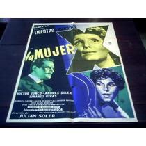 Poster Original La Mujer X Libertad Lamarque Victor Junco 55