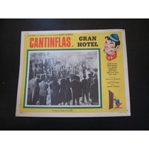 Gran Hotel Cantinflas Lobby Card Cartel Poster