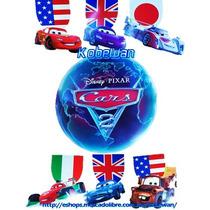 Colgante Original De Cine Cars 2 Display Mcqueen Mater Bande