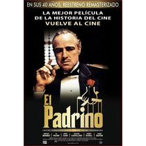 Mini Poster El Padrino 40 Aniversario