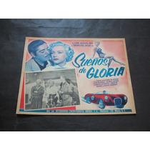 Sueños De Gloria Miroslava Aguilar Lobby Card Poster Cartel