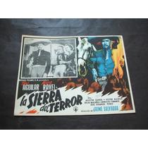 Sierra Del Terror Toni Aguilar Lobby Card Poster Cartel