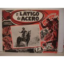 Richard Simmons, El Látigo De Acero (serial) , Cartel
