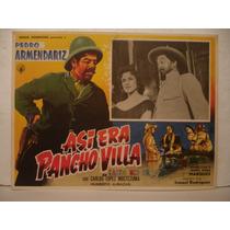 Pedro Armendariz , Así Era Pancho Villa , Cartel De Cine