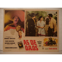 Antonio Aguilar , As De Oros , Cartel De Cine