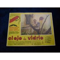 El Ojo De Vidrio Antonio Aguilar Lobby Card Cartel Poster
