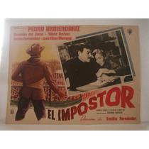 Pedro Armendariz, El Impostor , Cartel De Cine