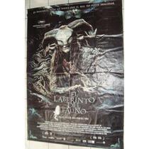 Lona De Cine Original: El Laberinto Del Fauno 149x215 Cm