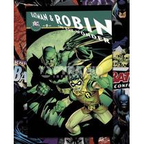 Batman Y Robin Cartel - Dc Comics Cubierta Cómica 40cmx 50cm