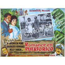 Lobby Cards,carteles,ma. Antonieta Pons,peliculas