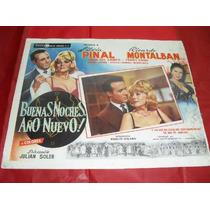 Cartel De Cine Buenas Noches Año Nuevo Silvia Pinal-r.monta