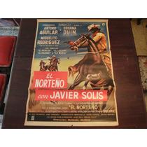 Poster Orignal Mexican El Jinete Enmascarado Antonio Aguilar