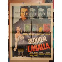 Requiem Por Un Canalla, Ana Luisa Peluffo, Joaqu Poster 1966