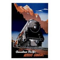 Carteles De Arte Vintage De Viajes En Tren, Locomotoras Sav7