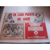 Blanca Estela Pavon, En Cada Puerto Un Amor, Cartel De Cine