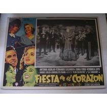Antonio Aguilar , Fiesta En El Corazón, Cartel (lobby Card )