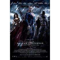 Poster Original Pelicula Batman Vs Superman 60x90 Cm
