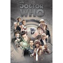 El Doctor Who Cartel - 61cmx 91.5cm Maxi Médicos A Través