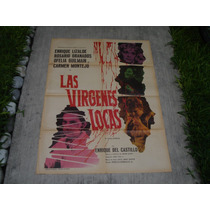 Enrique Lizalde , Las Virgenes Locas , Poster De Cine