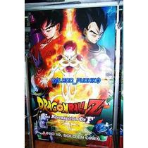 Display Original De Cine Dragon Ball Goku Vegeta Freezer Fuk
