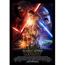 Lienzo Poster, Star Wars. The Force Awakens, 70 X 100cm