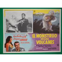 Ana Bertha Lepe El Monstruo De Los Volcanes Joaquin Cordero