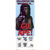 Poster (28 X 43 Cm) Planet Of The Apes