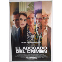 Poster Original El Abogado Del Crimen... Doble Vista