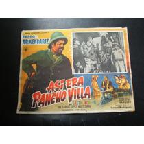 Asi Era Pancho Villa Pedro Armendariz Lobby Card Cartel