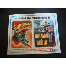 Superman Batman Y Robin Cartel Poster