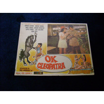 Ok Cleopatra Enrique Guzman Lobby Card Cartel A