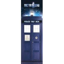 El Doctor Who Cartel - Tardis Puerta 53x158cm 150gsm Oficial