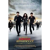 Lona Original De Cine Amanecer Pt 2 Crepusculo Edward Poster