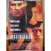 Poster Los Federales Tommy Lee Jones Wesley Snipes Downey Jr