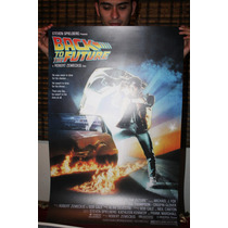 Poster Litografía De Volver Al Futuro - Sav7 Cin7