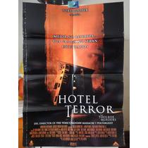 Poster Hotel Terror Angela Bettis Brent Roam Tobe Hooper