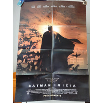 Poster Batman Inicia Christian Bale Michael Cane Chris Nolan