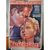 Poster Nacha Regules Zully Moreno Arturo De Cordova Amadori