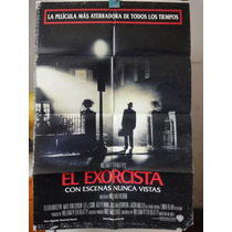 Poster Re-estreno The Exorcist Linda Blair Max Von Sydow